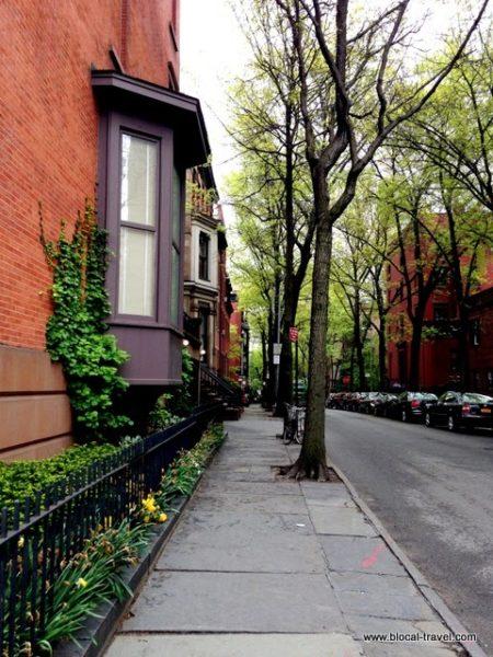 Brooklyn Heights brownstones new york