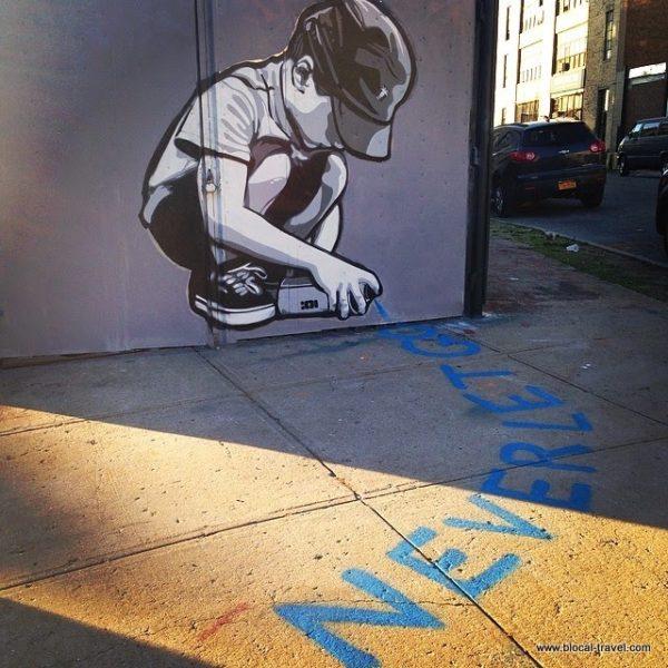 Joe Iurato for the Bushwick Collective, Brooklyn, New York | street art