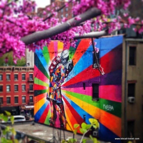 Street art in Chelsea, New York
