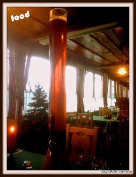 beer pod roglo restaurant slovenia