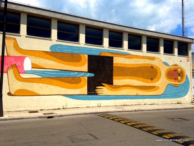 Agostino iacurci street art memorie urbane gaeta