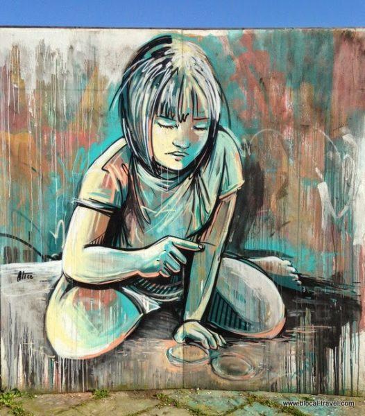 Alice, street art, città dell'altra economia, roma