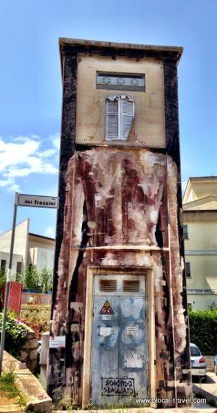 Borondo + Sbagliato, Memorie Urbane | Gaeta