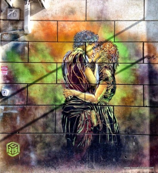 C215 street art in garbatella, rome