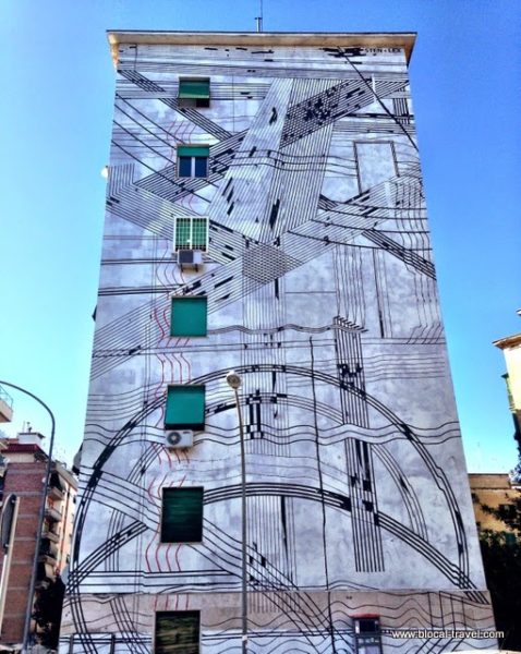 sten&lex street art in garbatella, rome