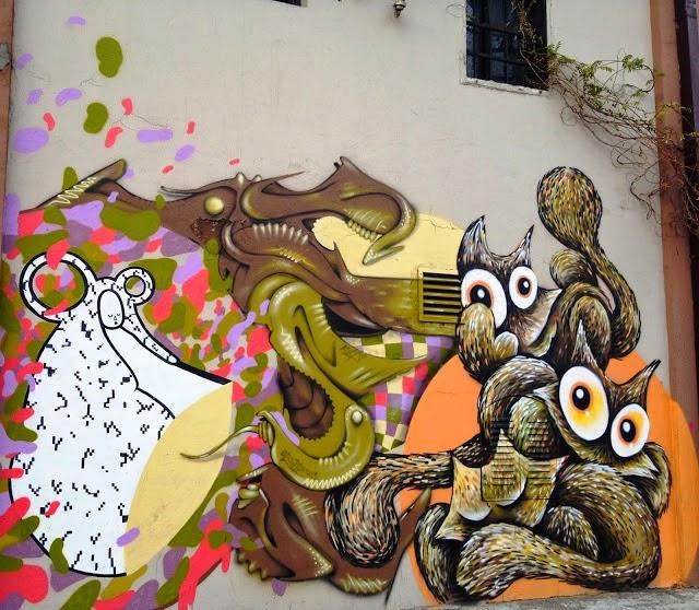 sqon savamala street art belgrade