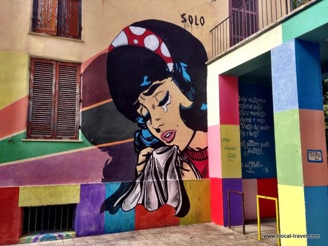nina trullo street art roma