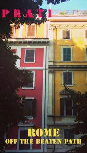 Prati neighborhood Rome