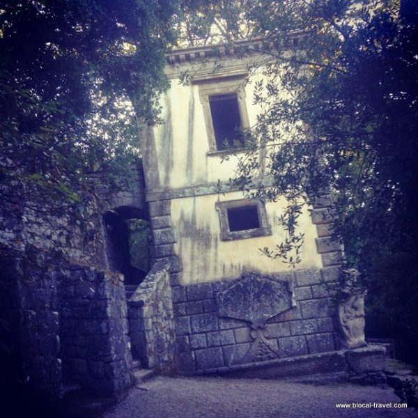 Bomarzo monsters park viterbo italy