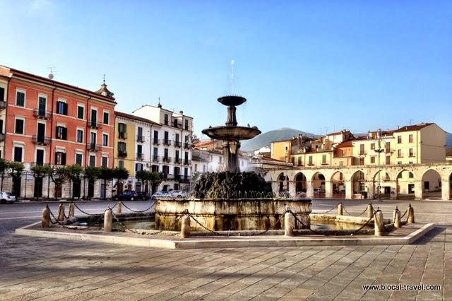 Piazza Garibaldi, Sulmona