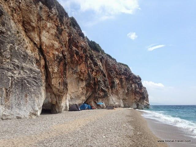 free camping in Albania