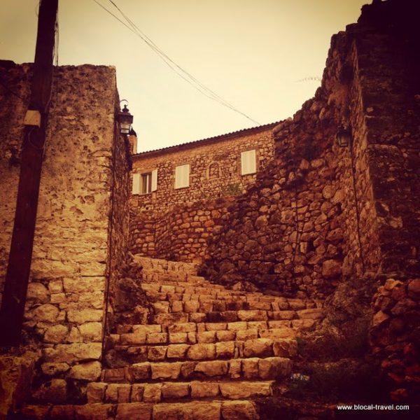 Himare ghost town, Albanian riviera, Albania