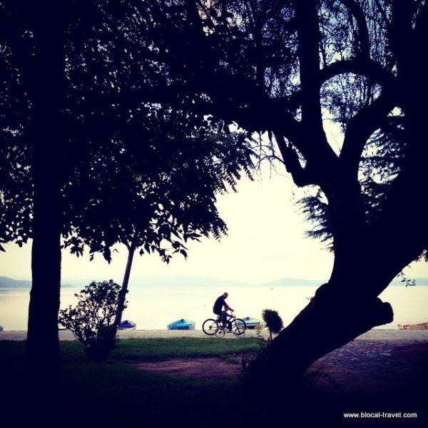 pogradec lake ohrid albania balkans