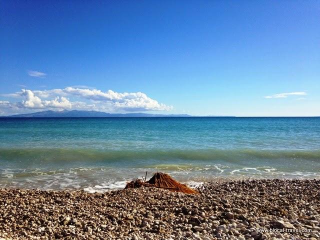 Qeparo beach, Albanian riviera, Albania