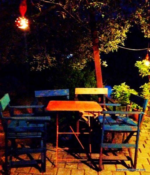 Red Indian Rock Café in Himara, Albania