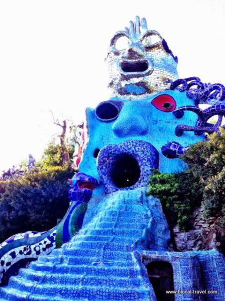 Tarot Garden, Capalbio, Tuscany, Italy