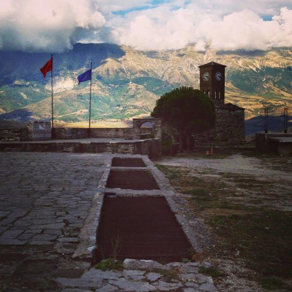 castle Gjirokaster, Albania, Balkans