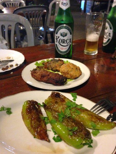kujtimi restaurant food Gjirokaster, Albania, Balkans