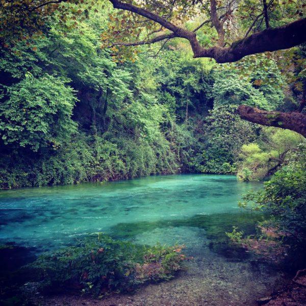 blue eye, syri i kalter, Gjirokaster, Albania, Balkans