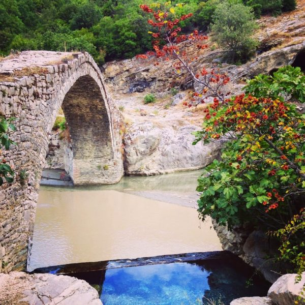 Benje thermal waters Permet Albania