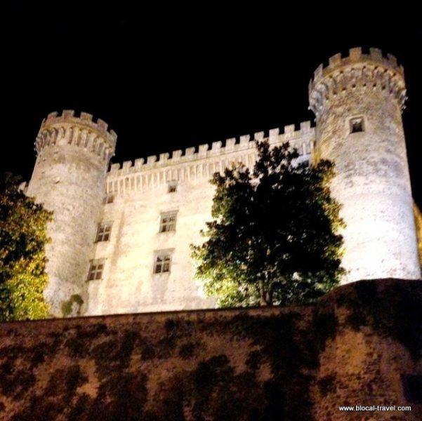 Orsini Odescalchi castle in Bracciano, Lazio, Italy
