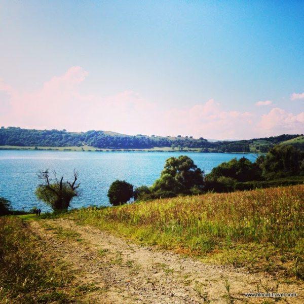 Martignano lake, Lazio, Italy