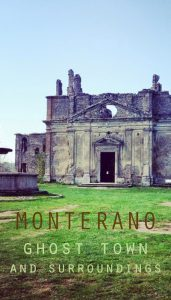 Monterano ghost town