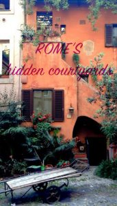 Hidden courtyards Rome