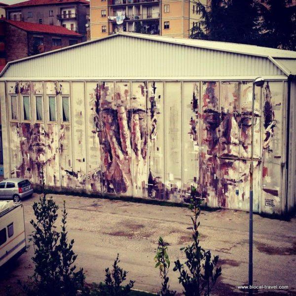Borondo street art arcidosso alterazioni festival tuscany