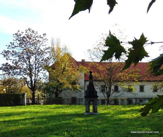 Fuzine castle neighborhood ljubljana slovenia