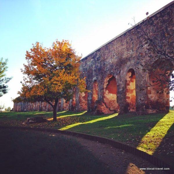 aqueducts Appian Way Regional Park Quadraro Tuscolano Roma