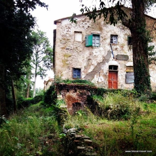 abandoned places in Tuscany Italy