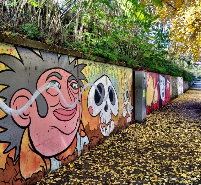 Diavù M.U.Ro. street art Quadraro Roma