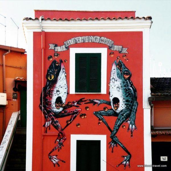 Veks Van Hillik M.U.Ro. Quadraro street art Roma