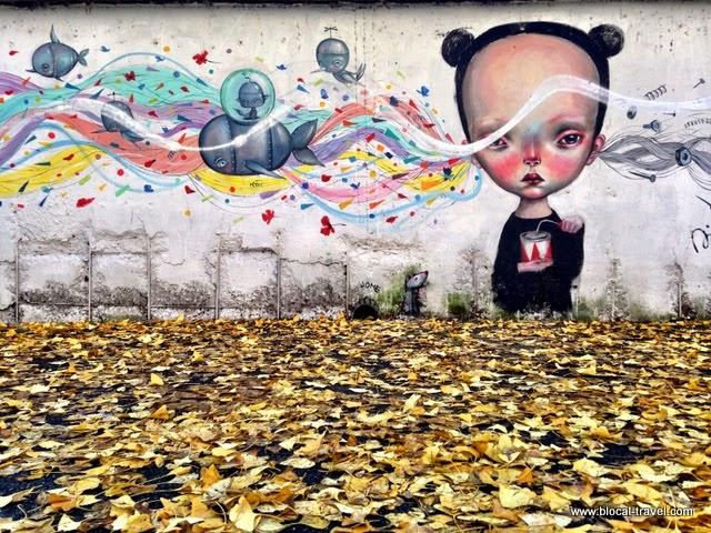Dilkabear Paolo Petrangeli M.U.Ro. street art Quadraro Roma