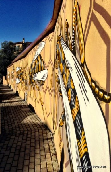 Lucamaleonte M.U.Ro. Quadraro street art Roma