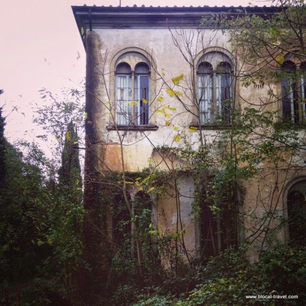 abandoned mental asylum in Volterra, Tuscany, Italy, urban exploration