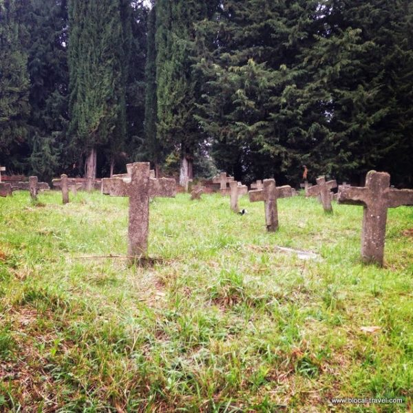 san finocchi abandoned cemetery volterra tuscany italy