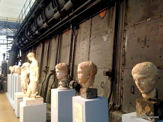 Centrale Montemartini Museum Rome Ostiense industrial archaeology classical art