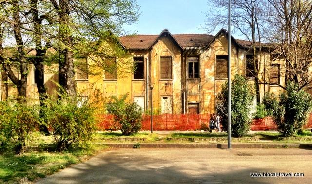 ex-convitto Milano abandoned Milan