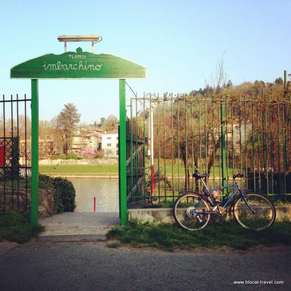 Imbarchino, Valentino park, Turin