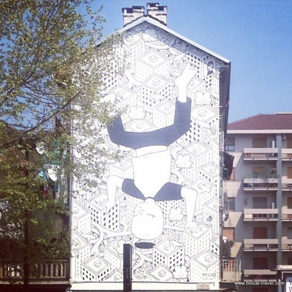 Millo, street art, Turin