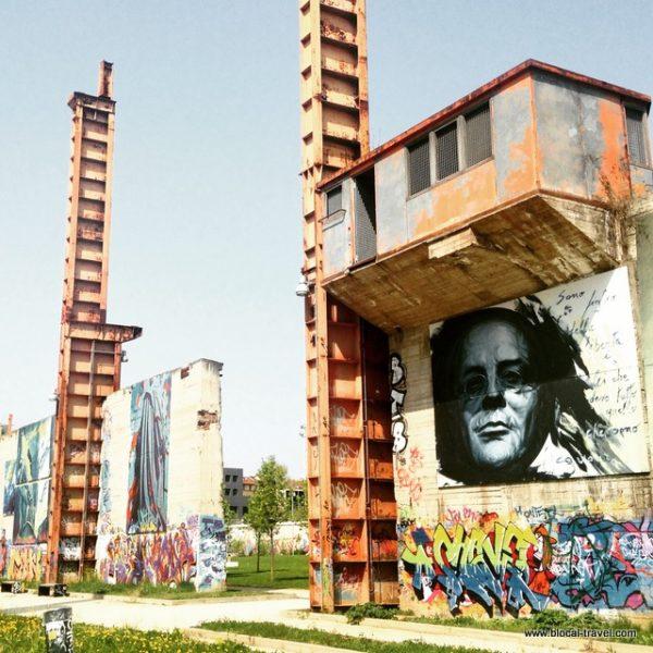 Parco Dora, street art + industrial archaeology, Turin