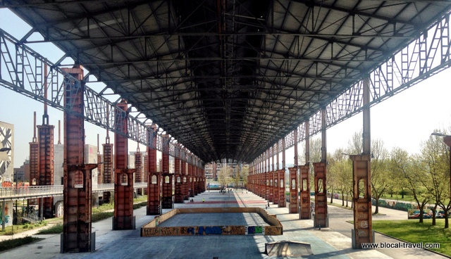 Parco Dora, industrial archaeology, Turin