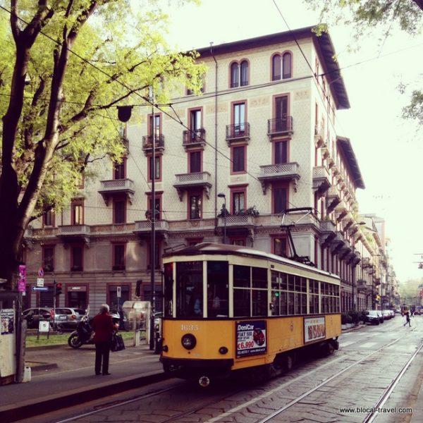 Tram Milan