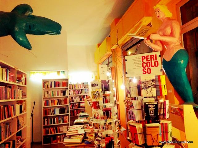 Trebisonda bookshop, San Salvario, Turin