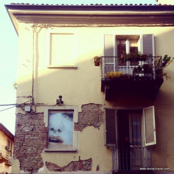 Urban Art Museum, street art, Turin