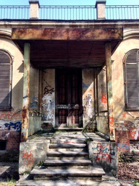 abandoned asylum, Turin