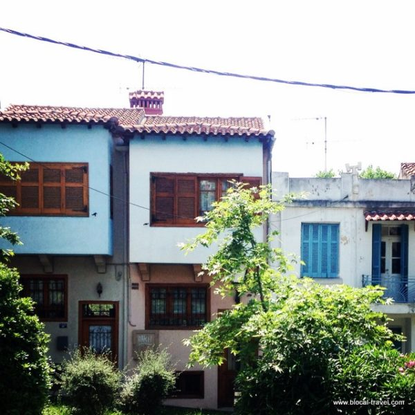 Ano Poli old town Thessaloniki
