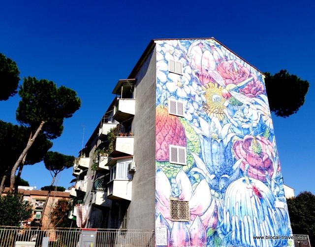 El devenir Liqen San Basilio Roma street art